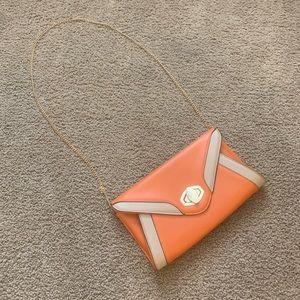 Orange Cross Body Bag